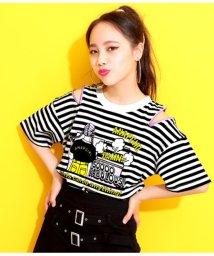 ANAP GiRL/ファッショニスタファスナー付Tシャツ/502373743