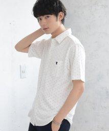 coen/【着る消臭元】鹿の子カットドットシャツ/502386537