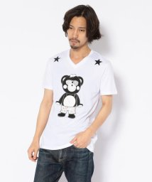 RoyalFlash/TANTA/タンタ/ キティコラボ チャッピー クリスタル Tシャツ/502390189