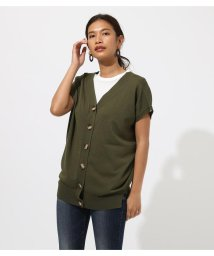 AZUL by moussy/2WAY BUTTON KNIT TOPS/502390592
