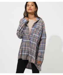 AZUL by moussy/CHECK SHIRT/502390594