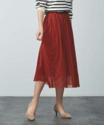 Rouge vif la cle/エスパンディギャザースカート/502247236