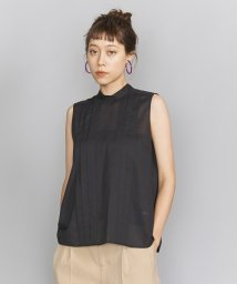 BEAUTY&YOUTH UNITED ARROWS/BY フロントタックバックリボンハイネックブラウス/502354197