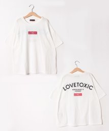 Lovetoxic/ボックスロゴビッグシルエットTシャツ/502376852
