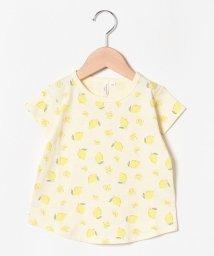 LAGOM/レモン総柄Tシャツ/502376939