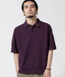nano・universe/ワイドシルエット鹿の子ポロシャツ/502377448