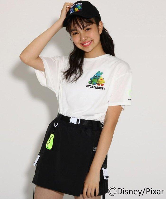 ★ニコラ掲載★【トイ・ストーリー4】ワンポイント Tシャツ