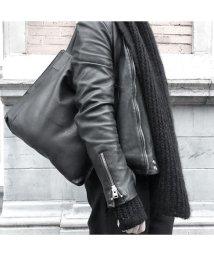 PATRICK STEPHAN/Leather shoulder bag 'simple' 2/502375327