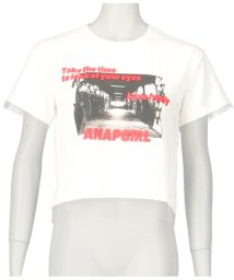 ANAP GiRL/フォトプリントメッシュ重ねトップス/502393097