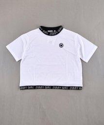 ZIDDY/天竺ロゴリブTシャツ/502393126