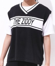 ZIDDY/天竺ベスト重ね着風Tシャツ/502393131