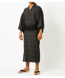 AZUL by moussy/LINEN COTTON YUKATA/502393492