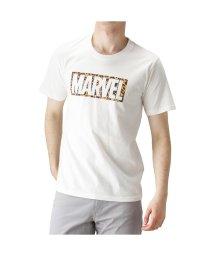 MAC HOUSE(men)/LOVE-T MARVEL ロゴ Tシャツ 391113125/502393917