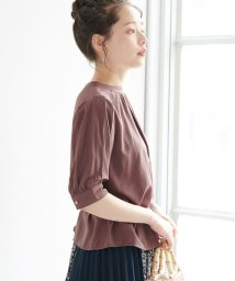 ROPE' PICNIC/【WEB限定】プチハイネックボリューム袖ブラウス/502394627
