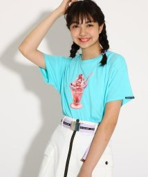 PINK-latte/【monetコラボ】Tシャツ/502395002