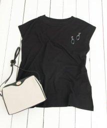 SENSE OF PLACE/オーガニックコットンフレンチスリーブTシャツ/502250154