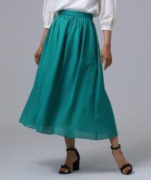 UNTITLED/[L]【洗える】ギャザーマキシスカート/502322008