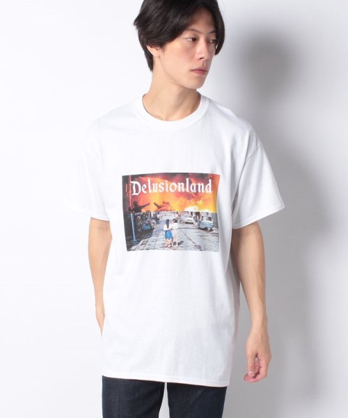 ONEDAY KMC(ワンデイケイエムシー)/DELUSION LAND / GIRL TEE/DLL01GIL