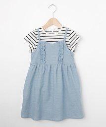 3can4on(Kids)/【150cmまで】Tシャツセットキャミワンピース/502397487