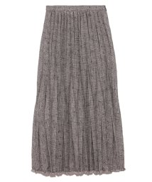 Lily Brown/ツイードプリーツスカート/502397607