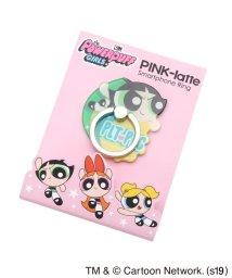 PINK-latte/【パワーパフ ガールズ】コラボ スマホリング/502397818