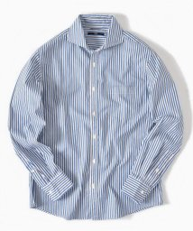 SHIPS MEN/SC: ヘリンボーン ストライプ セミワイドカラーシャツ/502398226