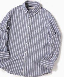 SHIPS MEN/SC: ペルヴィアン ピマ オックスフォード ボタンダウンシャツ (ストライプ)/502398402