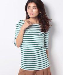 KOBE LETTUCE/バックバレエ5分袖Tシャツ/502375051