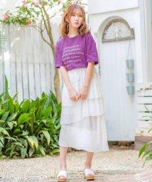 KOBE LETTUCE/ロゴTシャツ/502375058