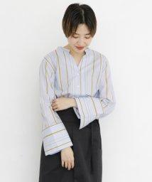 URBAN RESEARCH/【KBF】オーバータックストライプシャツ/502391289