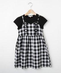 3can4on(Kids)/【2枚セット】【100cm~150cm】Tシャツセットキャミワンピース/502397487