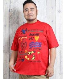 GRAND-BACK/【大きいサイズ】カステルバジャック/CASTELBAJAC 天竺プリント半袖Tシャツ/502397943