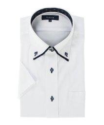 TAKA-Q/形態安定吸水速乾レギュラーフィット ドゥエマイターカラー半袖シャツ/502397970