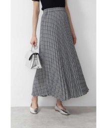 NATURAL BEAUTY BASIC/★[洗える]チェックプリーツスカート◆/502399174