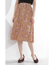 PROPORTION BODY DRESSING/◆クレールフラワーギャザースカート/502399259