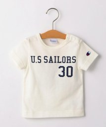 SHIPS KIDS/CHAMPION:【SHIPS KIDS 30th別注】フットボールTEE 2(80~90cm)/502400795
