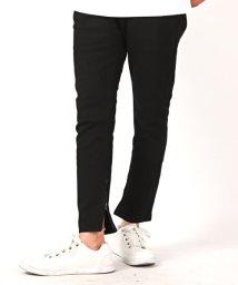 LUXSTYLE/カツラギストレッチBLACKスキニーパンツシリーズ/スキニーパンツ メンズ ブラック カツラギ ストレッチ/502401758