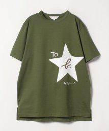 To b. by agnes b./WL84 TS ロゴビッグシルエットTシャツ/501885176