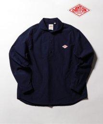 GLOSTER/【DANTON/ダントン】丸襟プルオーバーチェックシャツ JD-3568/502373675