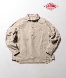 GLOSTER/【DANTON/ダントン】丸襟ビエラシャツ #JD-3568/502373676