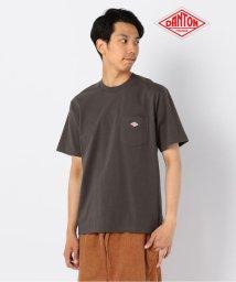 GLOSTER/【DANTON/ダントン】ポケット付Tシャツ #JD-9041/502373678