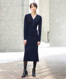 LOVELESS WOMEN/リブニット ドレス/502390146