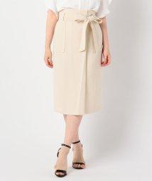 NOLLEY'S sophi/リボン付きラップ風スカート/502390228