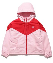 LEVI'S LADY/COLOUR BLK SHORT BOMBER PALE PINK / RED/502392314
