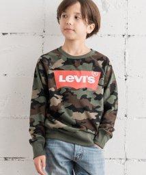 LEVI'S LADY/【KIDS】GRAPHIC CAMO SWEATSHIRT CYPRES/502392319