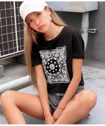 ANAP/ペイズリークロップドTシャツ/502393050