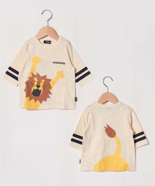 kladskap(クレードスコープ)/バンザイライオンライン入りTシャツ/5393224