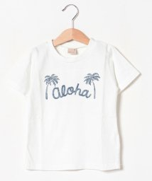 petit main/アロハ×パームツリーTシャツ/502393960