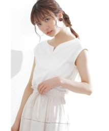 PROPORTION BODY DRESSING/◆フロントメタルポイントカットソー/502399270