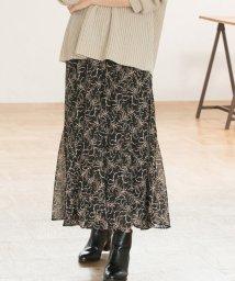 ViS/【WEB限定】花柄マーメイドスカート/502402681